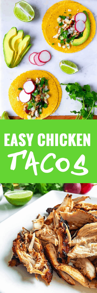 Weeknight Chicken Tacos - Quick and Easy!