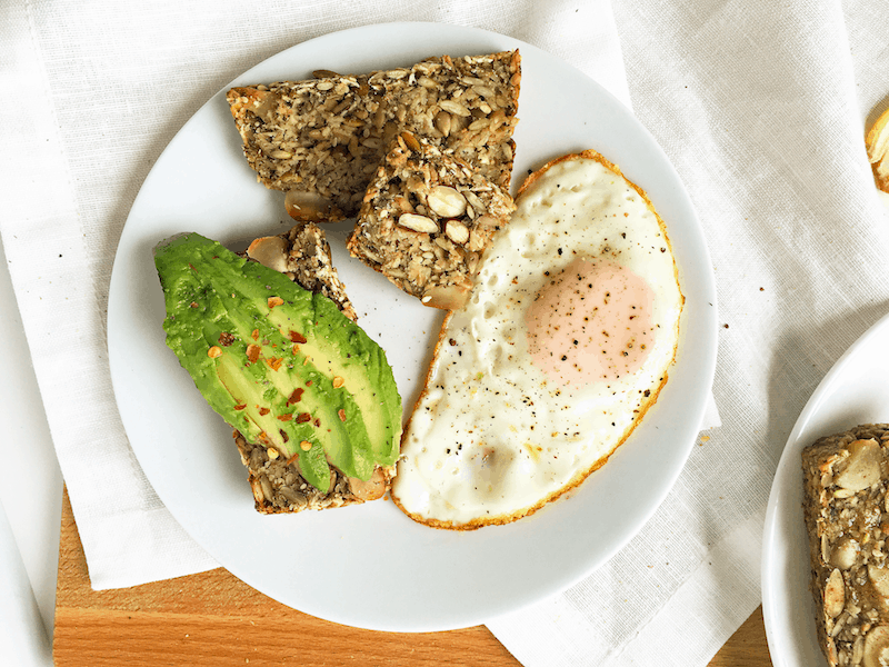 Healthy Avocado Egg Toast