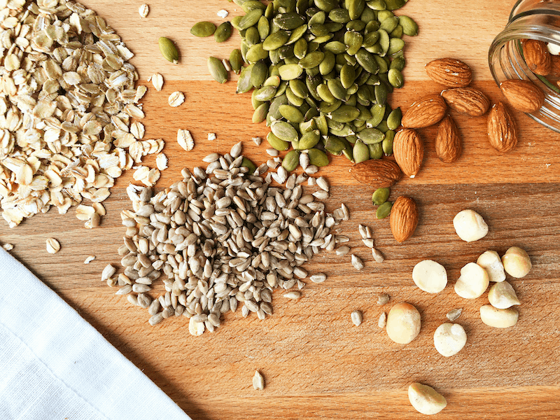 Healthy Seed Nut Bread Ingredients
