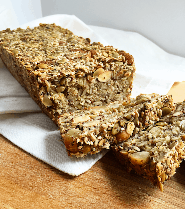 Healthy Seed and Nut Bread