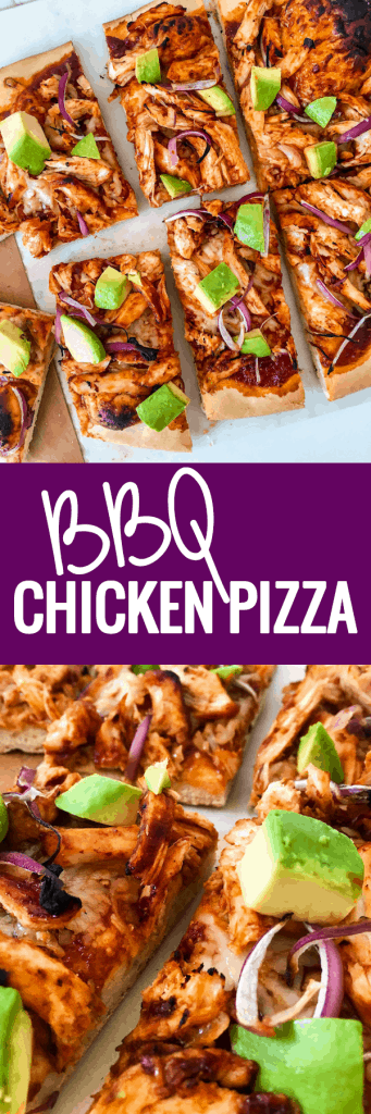 BBQ Chicken Pizza...Yum!!!