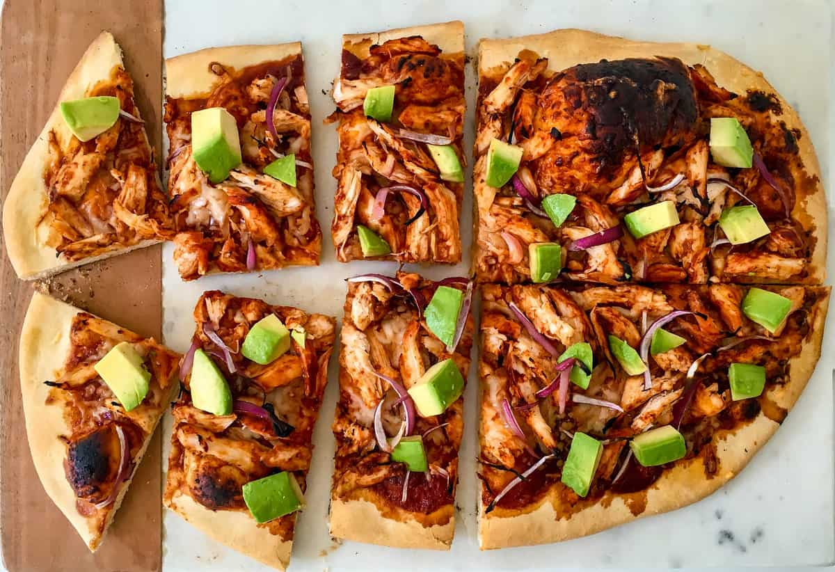 BBQ Chicken Pizza - Baked Ambrosia