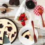 Berry Swirl Cheesecake Tart