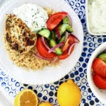 Greek Chicken Rice Bowl