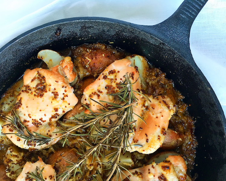 Rosemary Honey Mustard Chicken copy