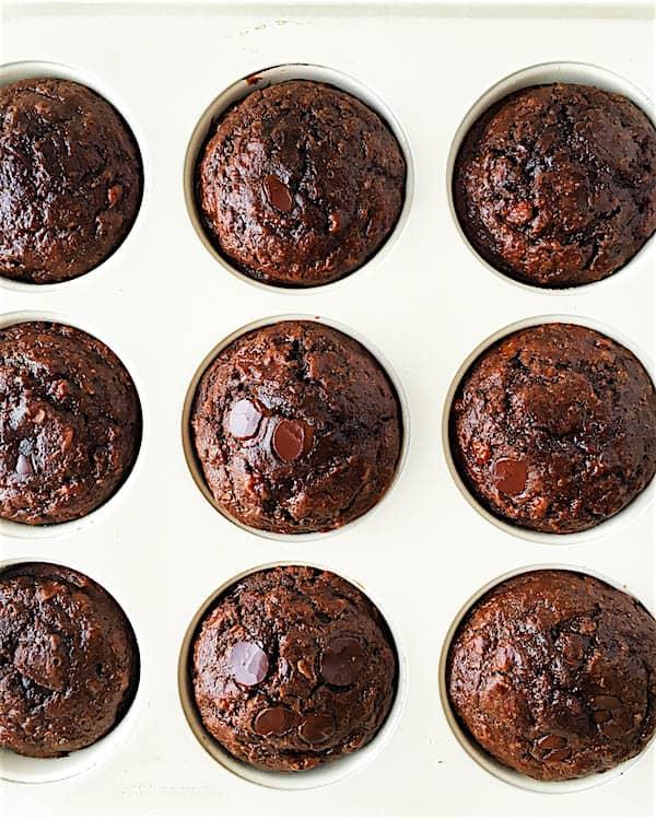 Low Fat Peanut Butter Banana Muffins Recipe — Dishmaps