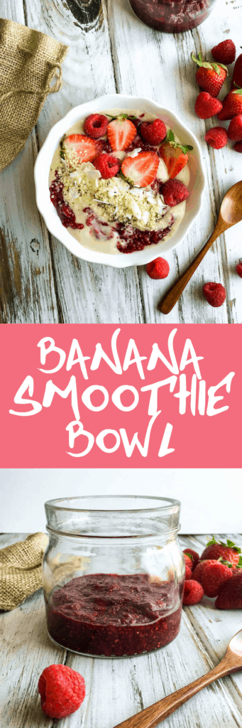 Healthy Banana Smoothie Bowl