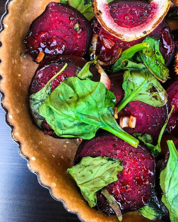 beet-spinach-onion-quiche
