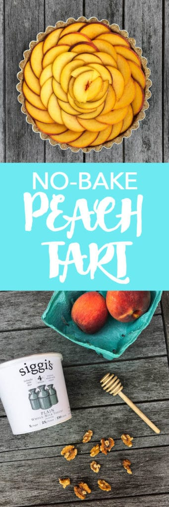 No-Bake Peach Tart ... YUM!!