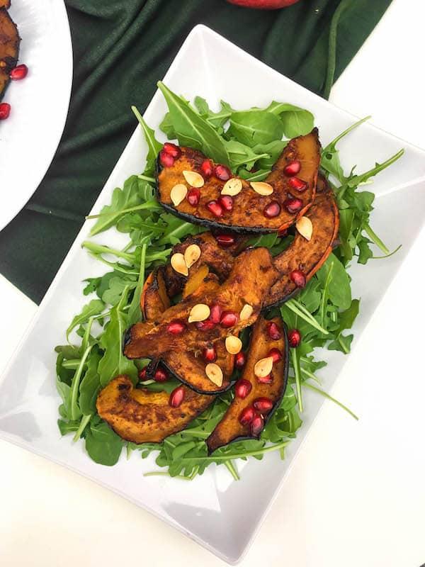 acorn-squash-arugula-salad