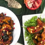 Spicy Maple Roasted Acorn Squash