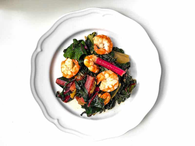 one-skillet-shrimp-chard-recipe