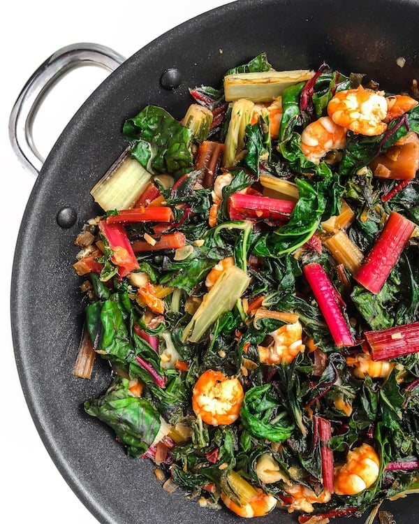 shrimp-swiss-chard-recipe