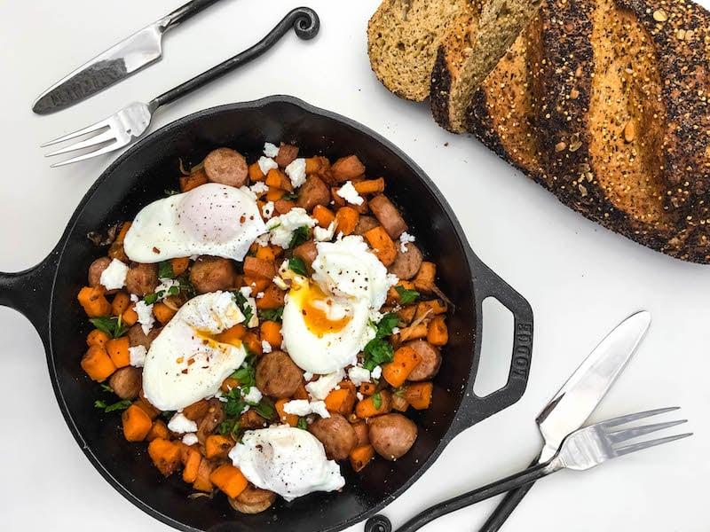 sweet-potato-sausage-hash