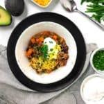 One Pot (Healthy) Turkey Sweet Potato Chili