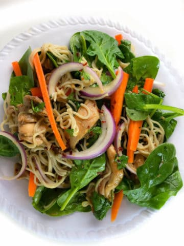 15-minute Vietnamese Noodle Salad