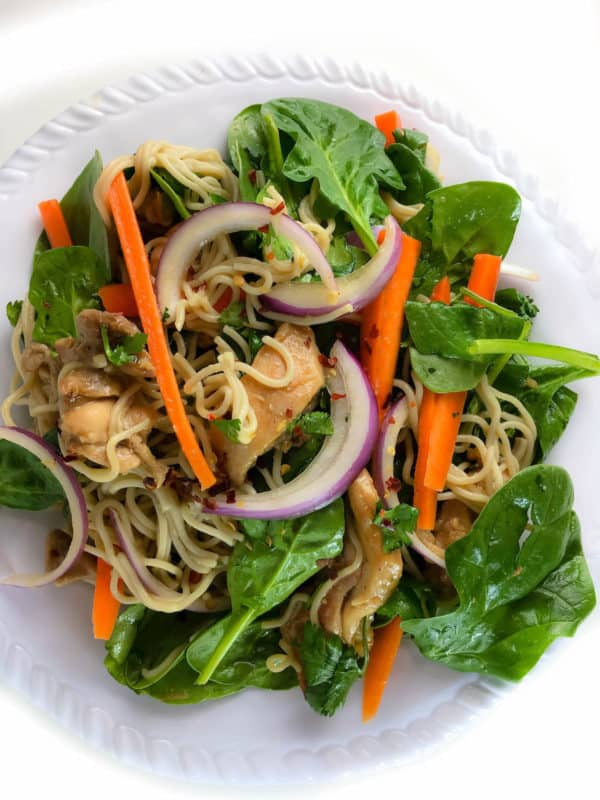 15-minute Vietnamese Noodle Salad + The Smart Way to Save Money on Healthy Food - Baked Ambrosia