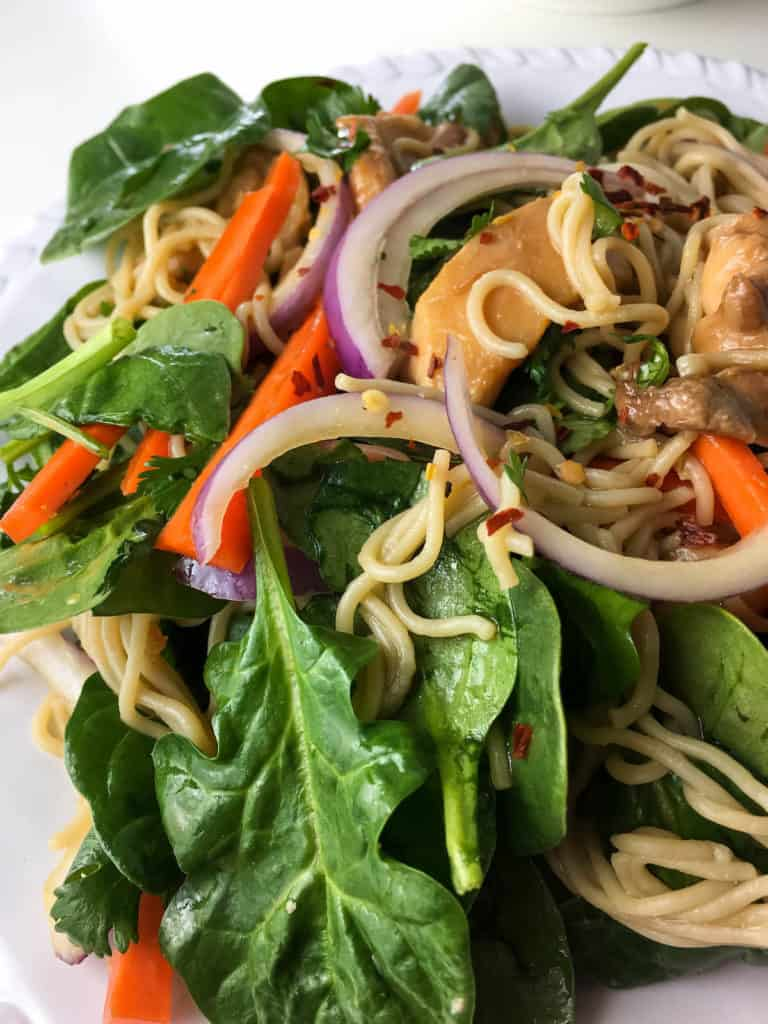 Quick and Easy Asian Noodle Salad Recipe
