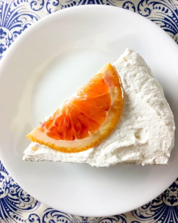 Blood Orange Margarita Cake