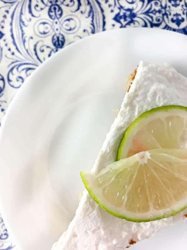 Boozy Lime Cake