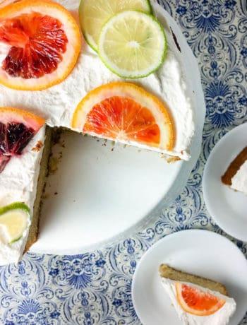 Boozy Margarita Cake