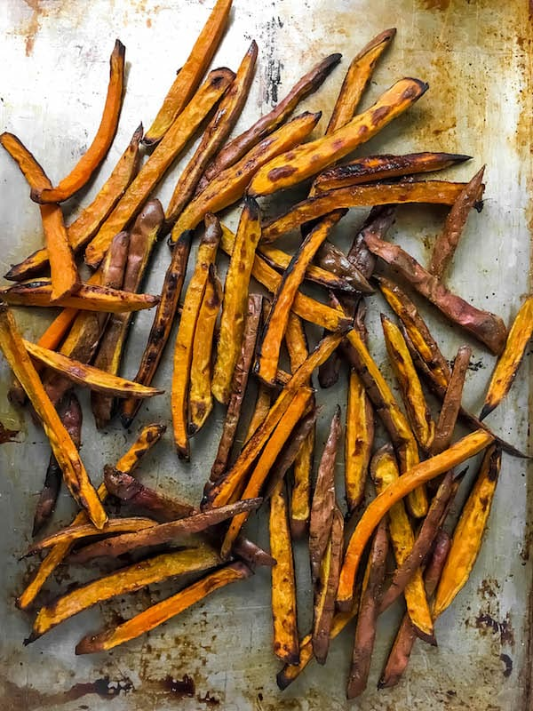 Sheet Pan Sweet Potato Fries