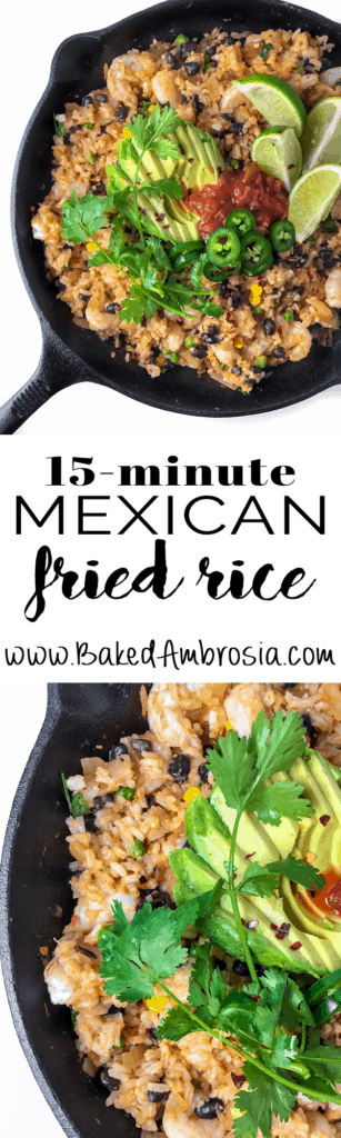 15-minute Mexican Fried Rice