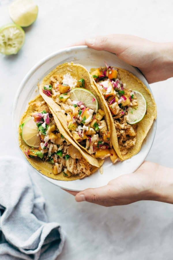 Easy Chili Lime Fish Tacos | Pinch Of Yum