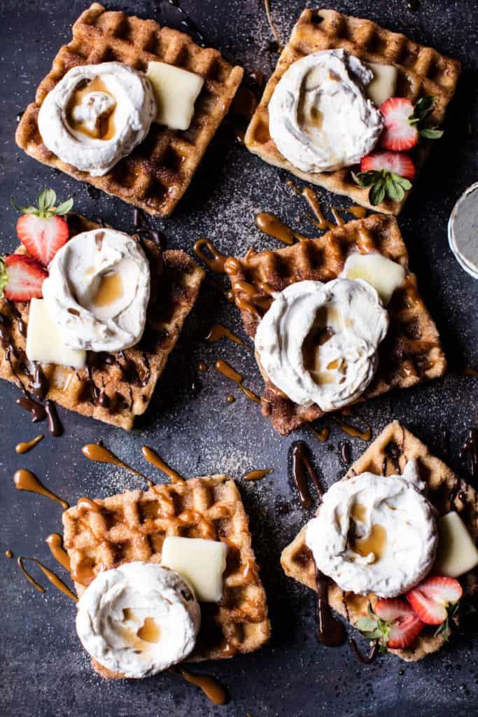 Churro Waffles | Half Baked Harvest