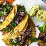 Easy Mexican Shredded Beef Tacos
