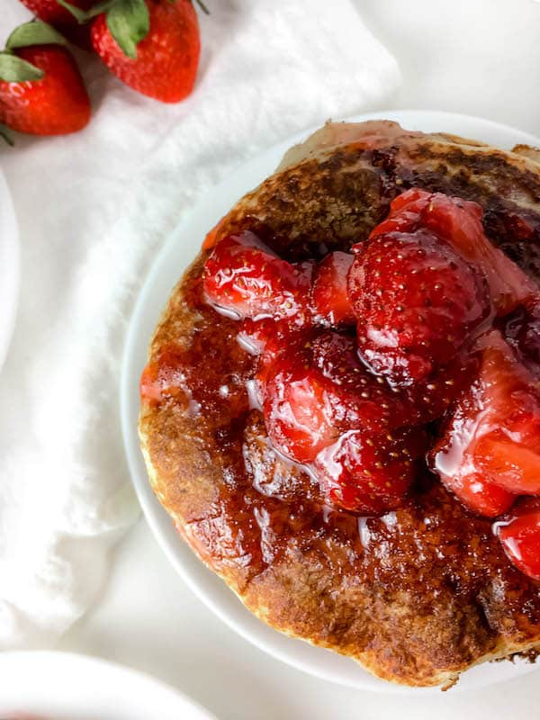 Healthy Strawberry Pancake Syrup