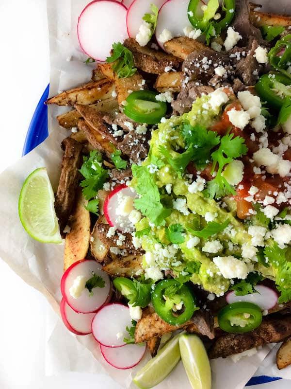 Loaded Cinco de Mayo Mexican Street Fries