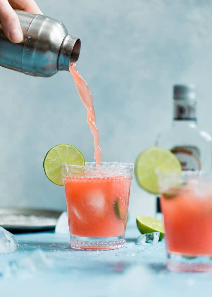 Skinny Jalapeño Watermelon Margaritas | Ambitious Kitchen