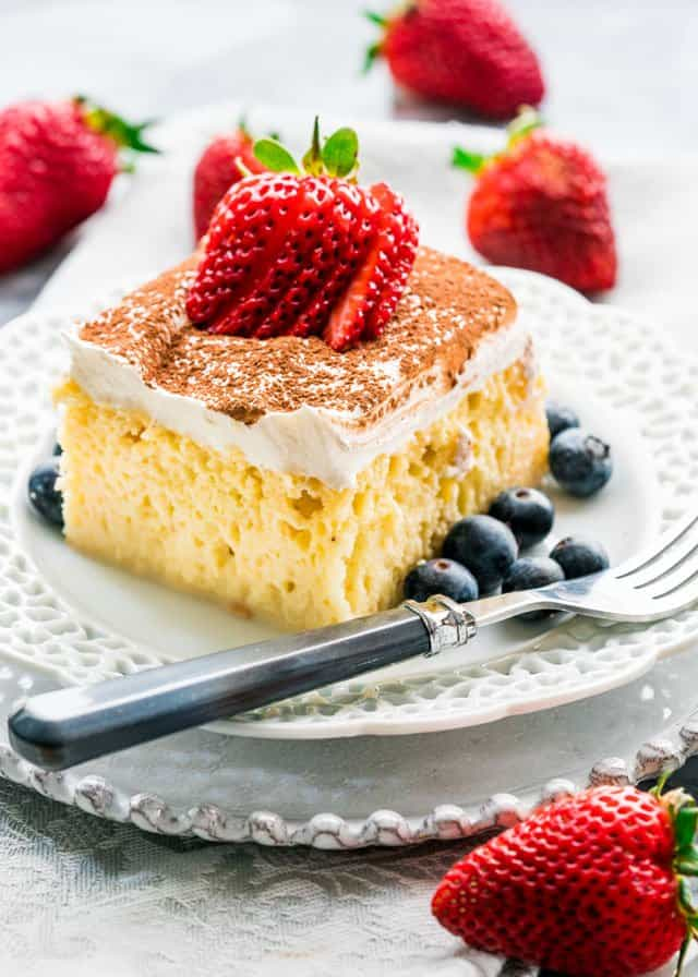Tres Leches Cake | Jo Cooks
