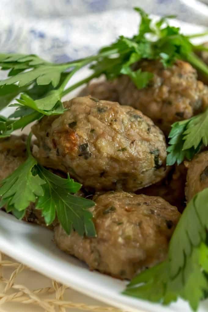 healthier cypriot keftedes meatballs