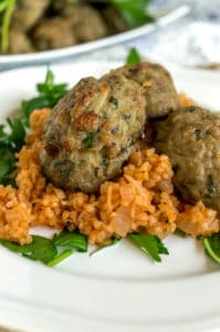 healthy greek meatballs
