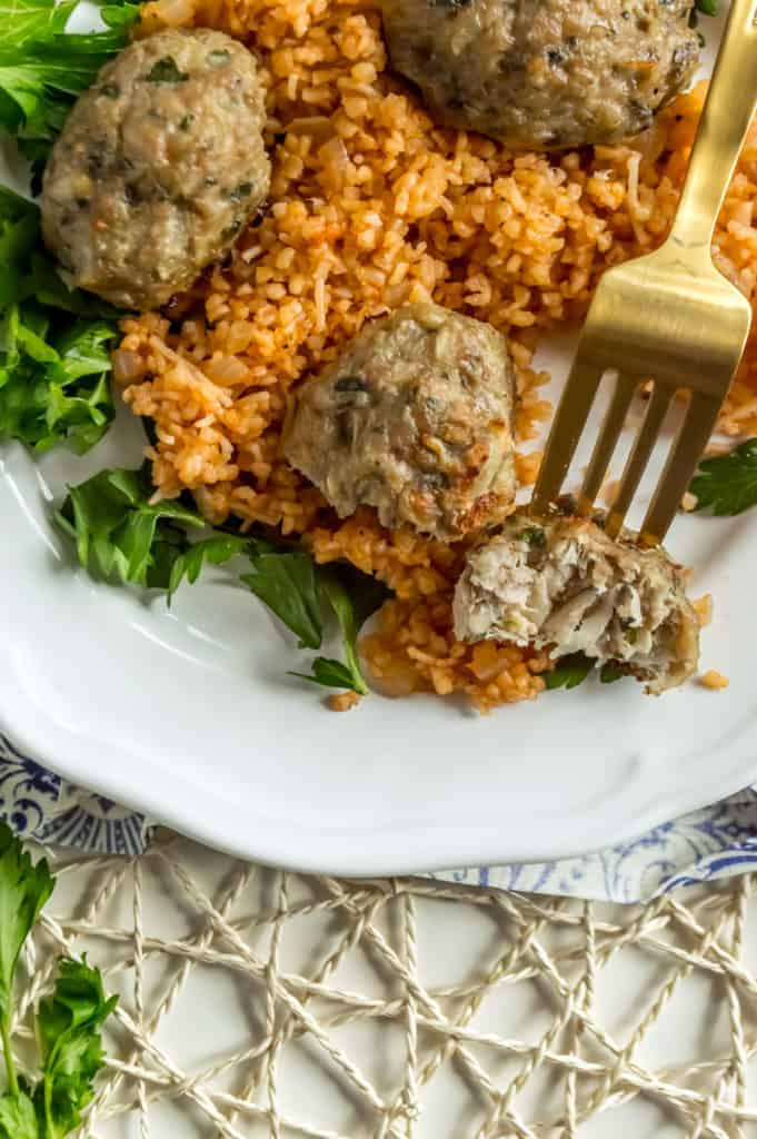 healthy keftedes bulgur