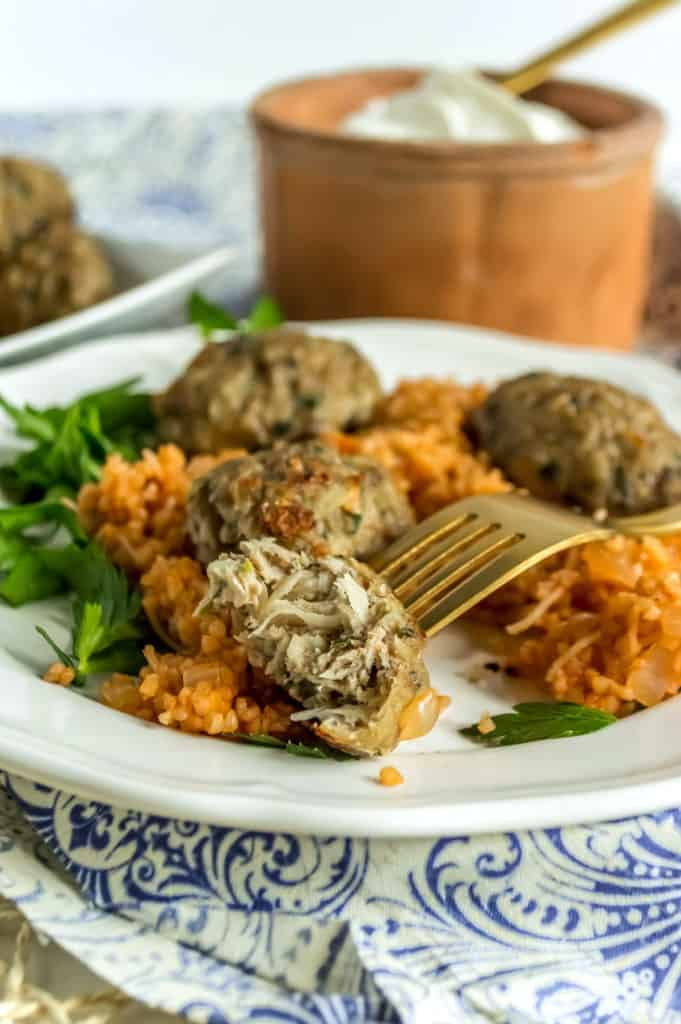 healthy meatballs bulgur