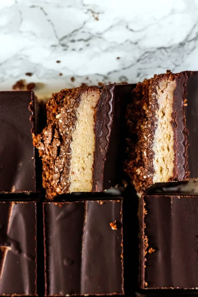 Chocolate Coconut Caramel Bars Gluten Free Paleo Vegan