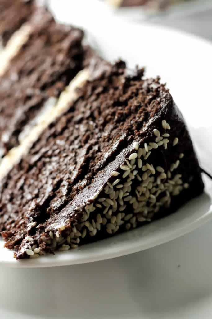 Chocolate Tahini Cake Dairy Free
