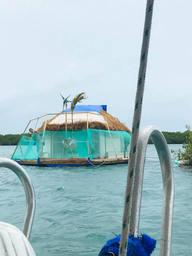 Floating House Isla Mujeres, Mexico