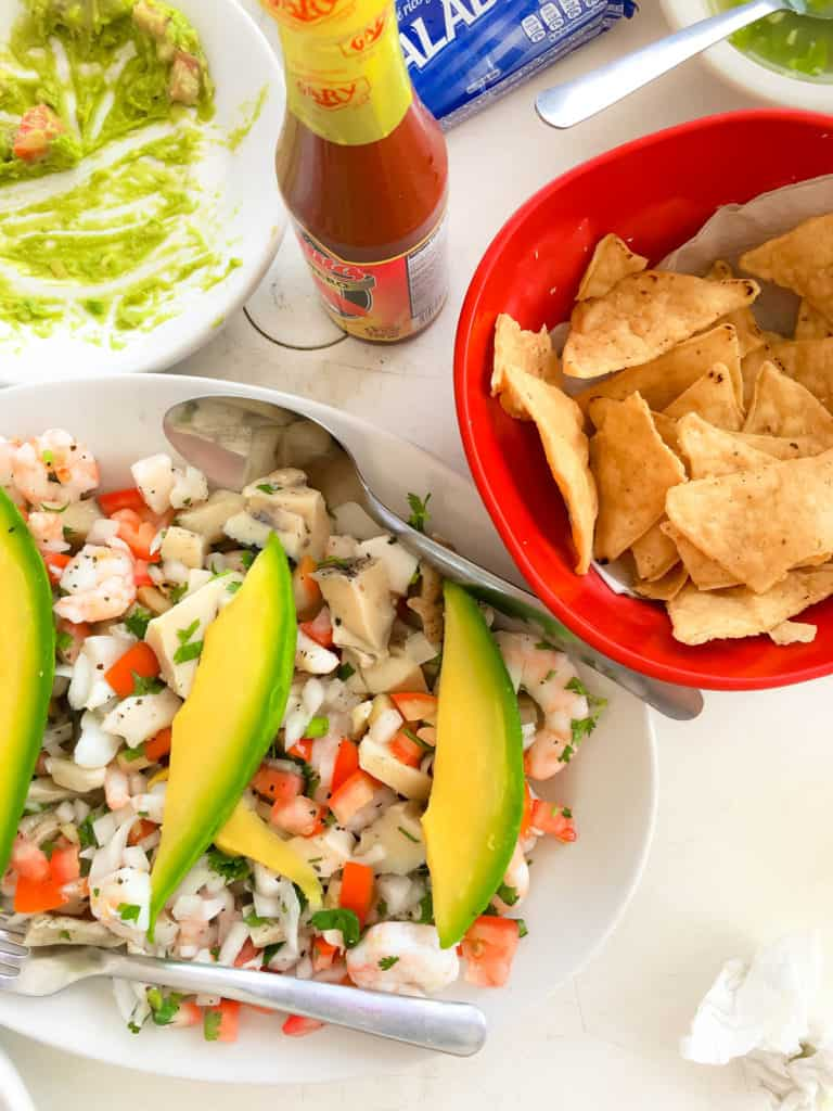 Isla Mujeres, Mexico Ceviche