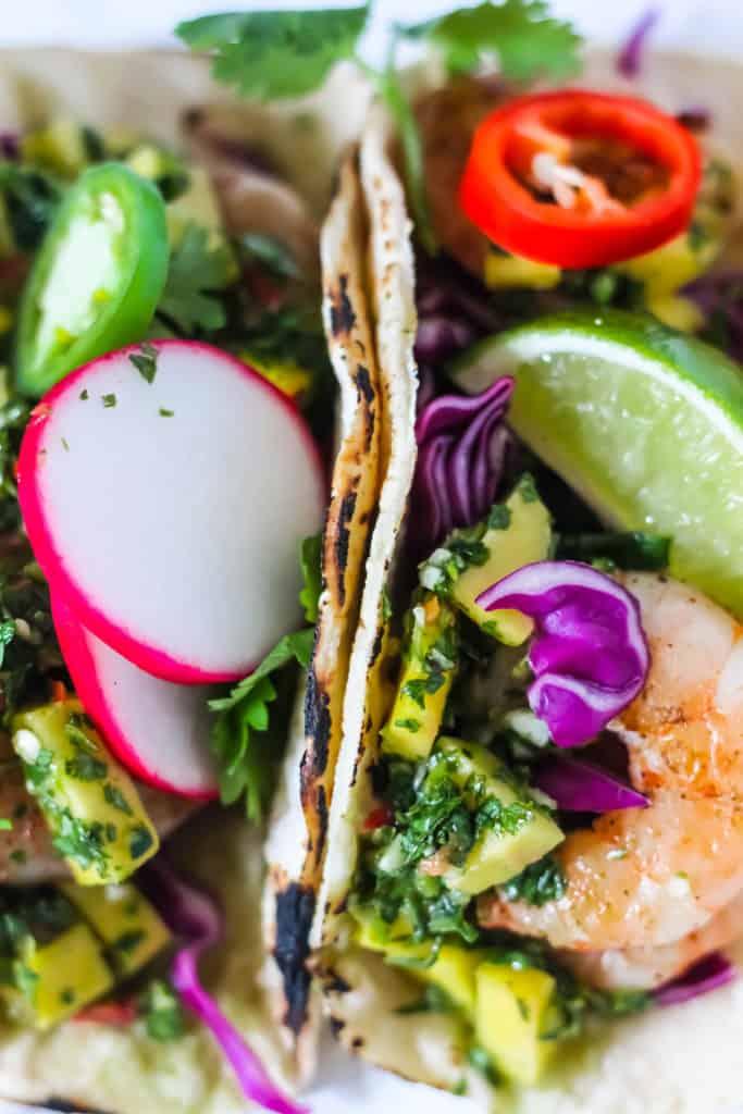 Delicious grilled shrimp tacos recipe