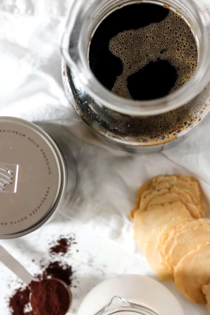 Perfect Cold Brew Coffee with Non-Dairy Vanilla Creamer