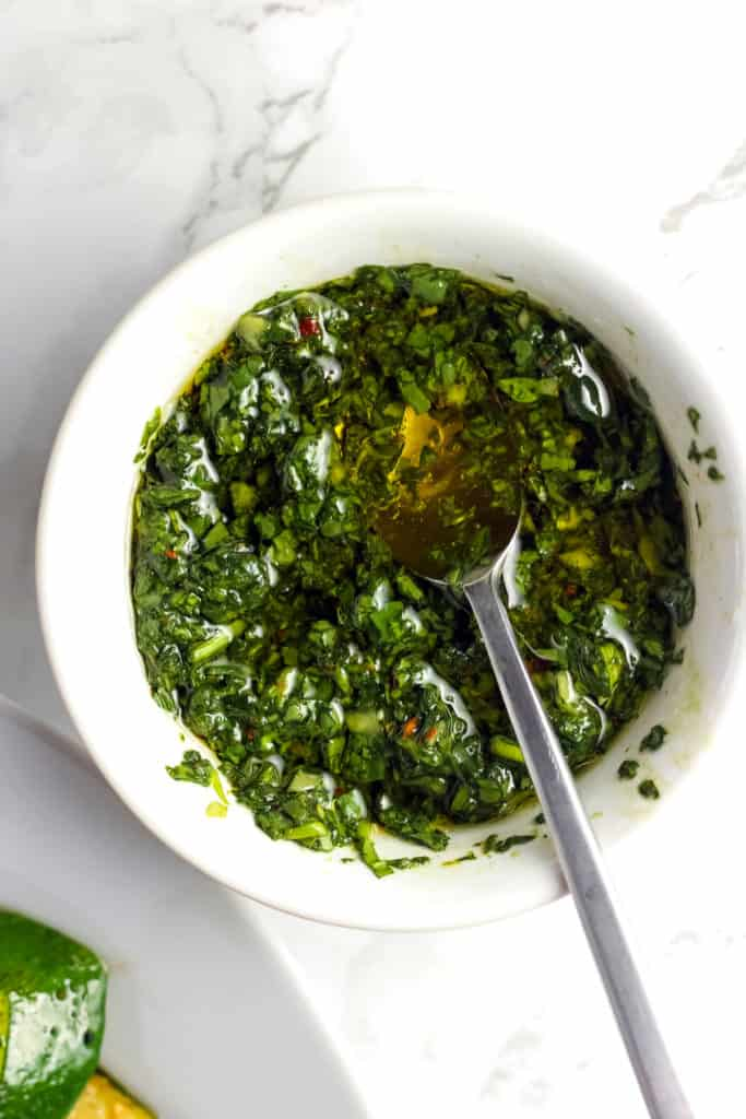 Spinach Chimichurri