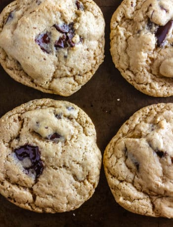 The Best Vegan Chocolate Chunk Cookies