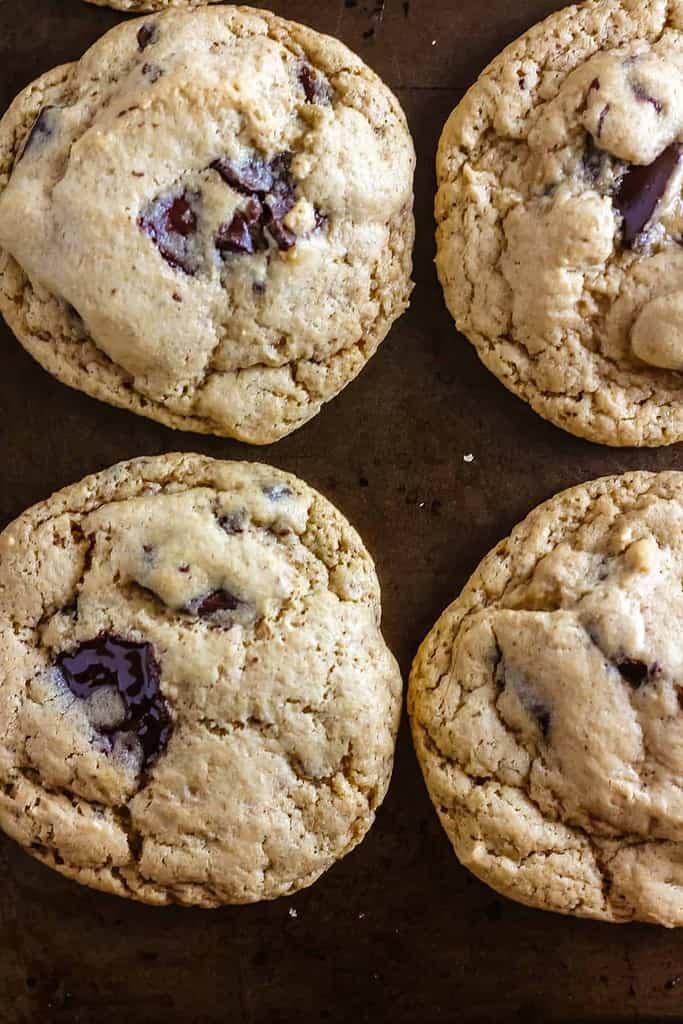 The Best Vegan Chocolate Chunk Cookies