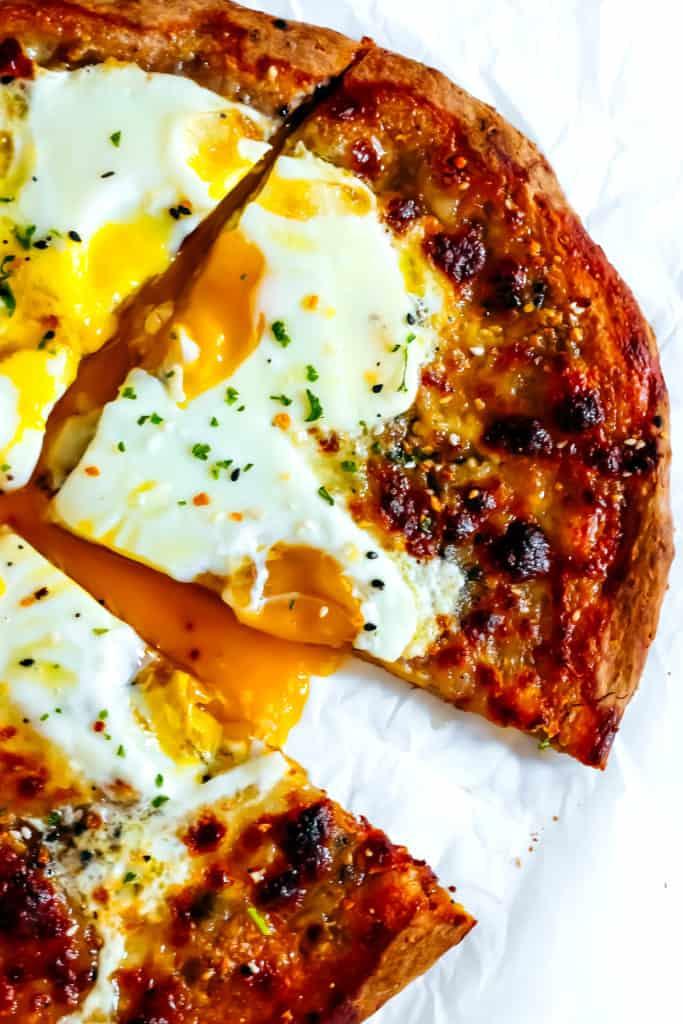 Everything Bagel Breakfast Pizza