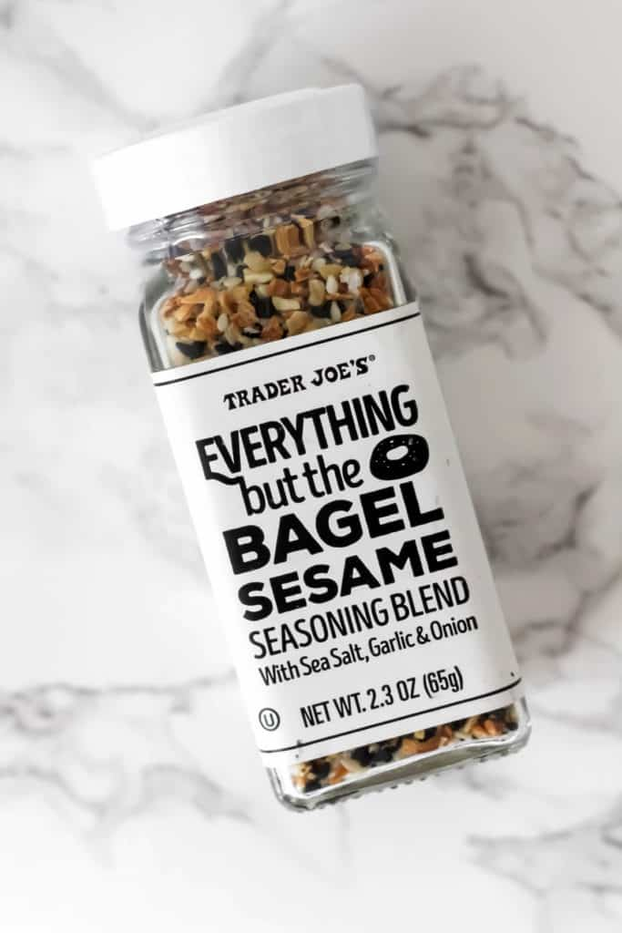 Trader Joe's Everything Bagel Breakfast Pizza