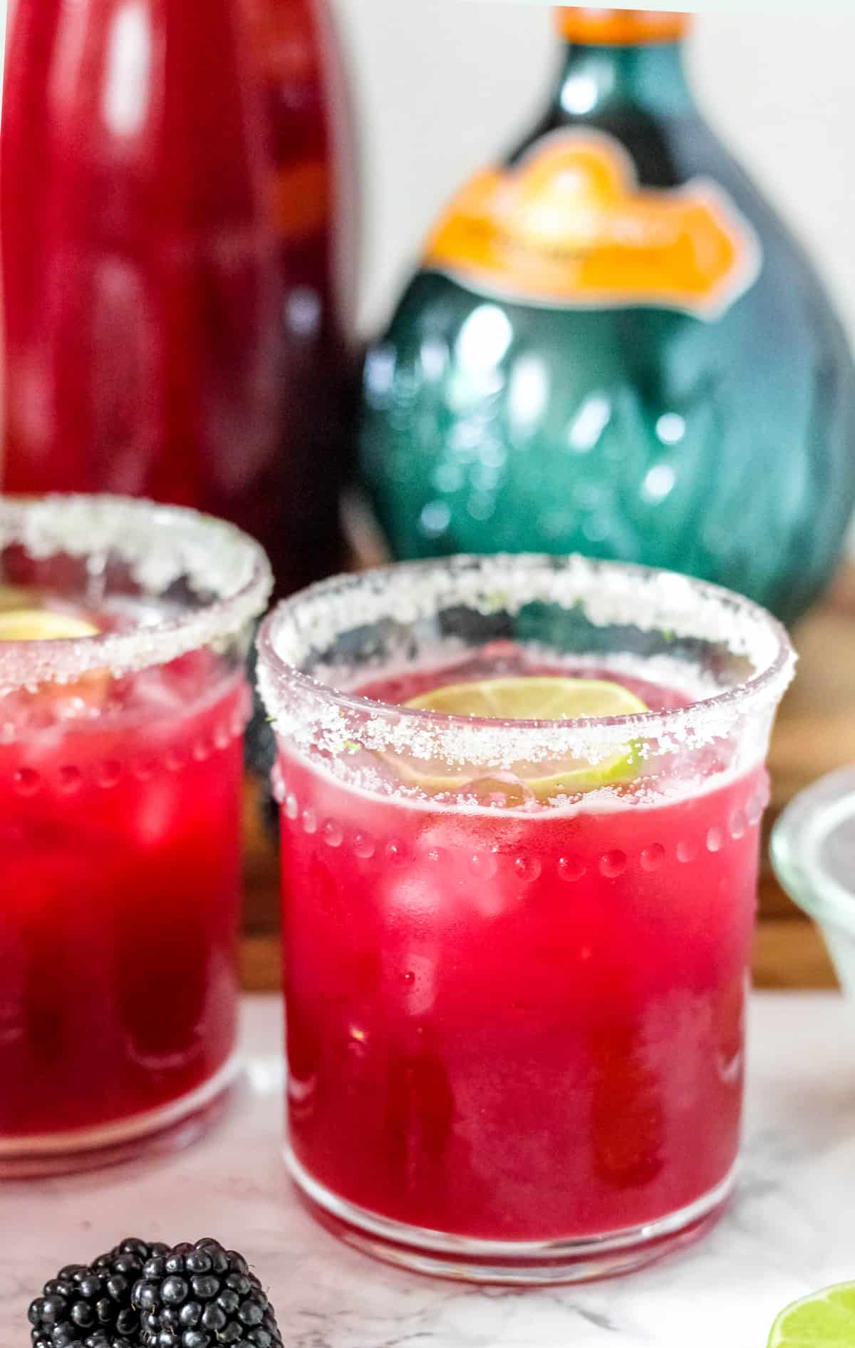 Perfect Blackberry Margaritas